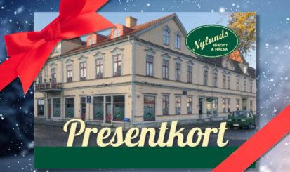 Nylunds | Presentkort JUL